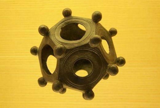 Hình khối 12 mặt ở La Mã cổ đại