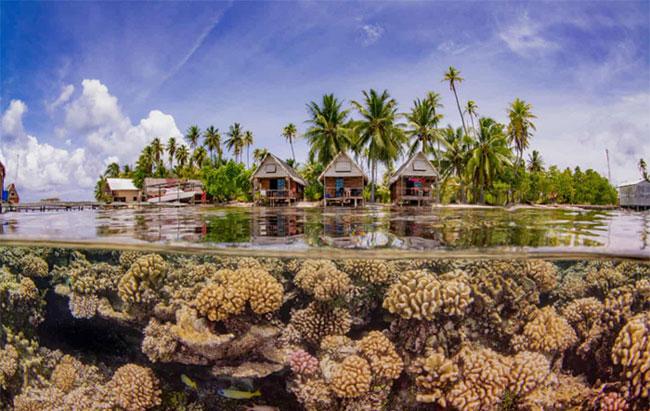 """Bức ảnh """"Thiên đường"""" do Taeyup Kim (Hàn Quốc) được chụp tại vùng Polynesie (Pháp)"""