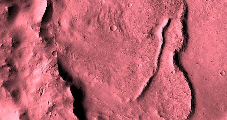 Bức ảnh của NASA cận cảnh sao Hỏa.