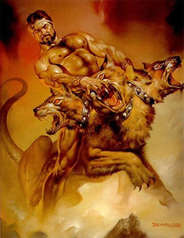 Chó 3 đầu Cerberus