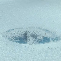 """Lộ diện """"hung thần biển cả"""" của Đức Quốc xã dưới lớp băng Nam Cực?"""