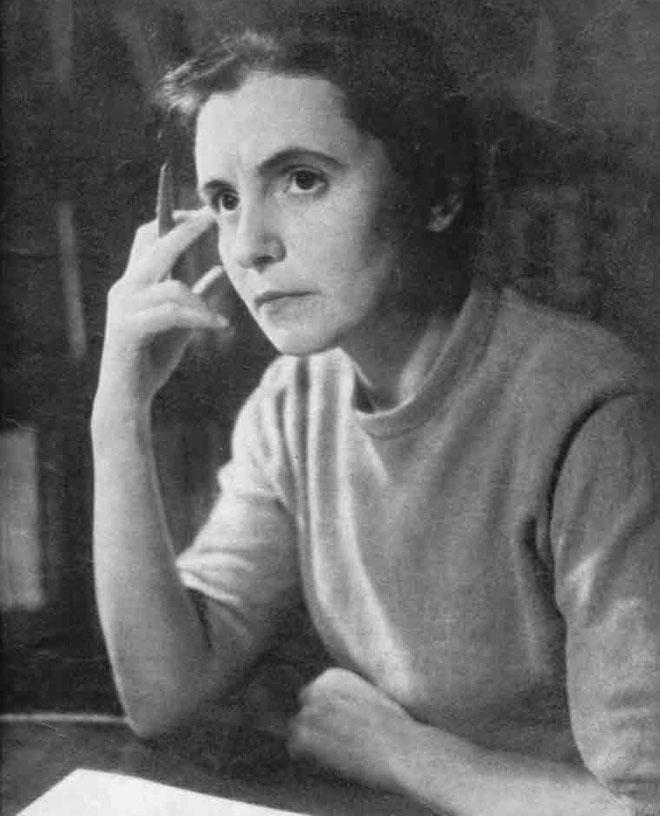 Nhà toán học Olga Ladyzhenskaya khi còn trẻ.