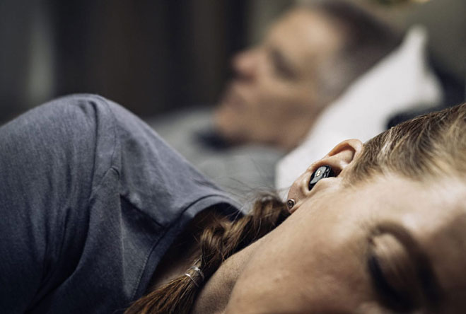 Cặp nút tai được thiết kế dành riêng cho những người phải nằm bên cạnh người ngáy to.