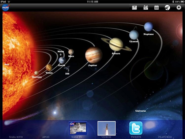 Ứng dụng NASA