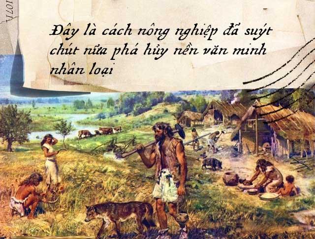 Thuở bình minh của nền nông nghiệp tới vào thời kỳ Đồ đá mới