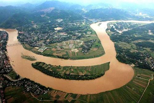 Sông nào không chảy qua địa phận Hà Nội?