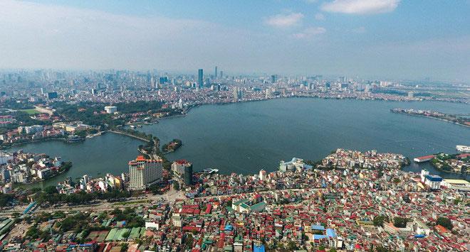 Hồ nào ở Hà Nội được tạo ra từ một phần của Hồ Tây?