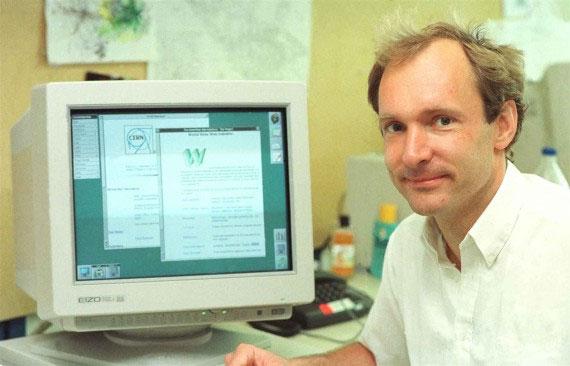 Tim Berners-Lee - người phát minh ra World Wide Web.