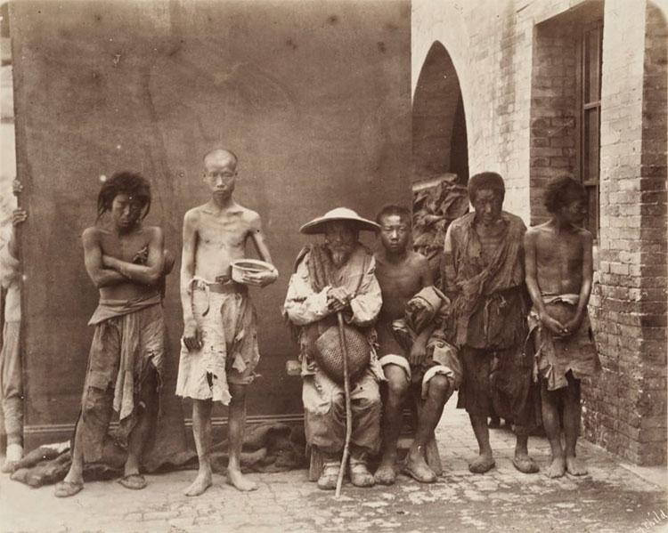 Những người ăn xin ở Trung Quốc thế kỷ 19