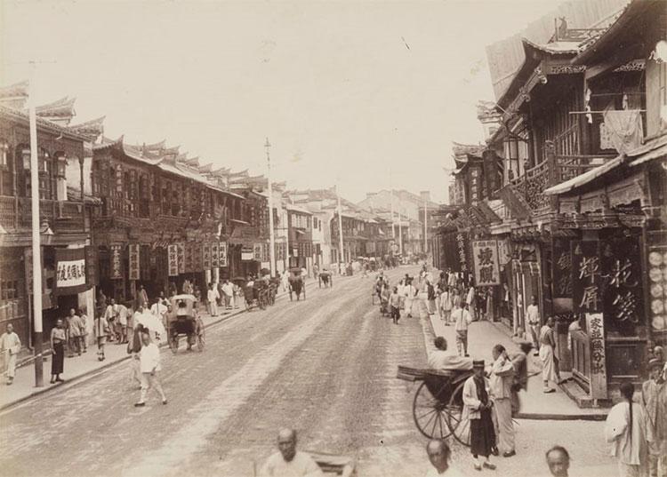 Đường phố Trung Quốc xưa