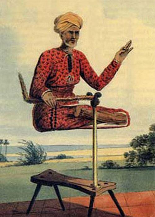 Khinh công (Levitation) là kỹ thuật tự bay trong không khí