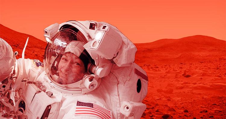 Nhiều khả năng phụ nữ là người đầu tiên đặt chân lên sao Hỏa.