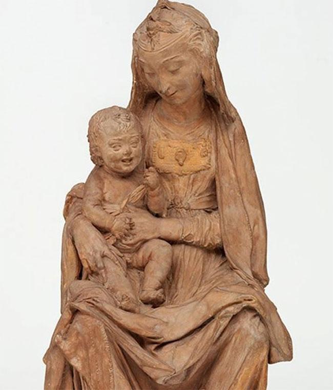 Tác phẩm điêu khắc được cho là tác phẩm do thiên tài Leonardo da Vinci sáng tạo ra đang gây tranh cãi.