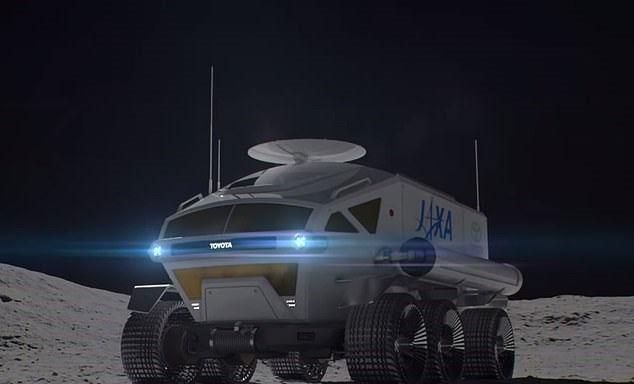 Hình ảnh đầu tiên chiếc tàu thăm dò mặt trăng của JAXA