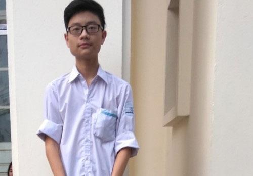 Nguyễn Tấn Minh – Trường THPT Chuyên Khoa học Tự nhiên, Đại học QGHN.