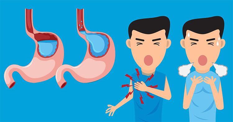 Khi gặp phải tình trạng này thì các loại thức ăn bạn nạp vào cơ thể sẽ gây ra một lượng axit không nhỏ.