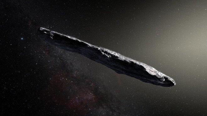 Vật thể không xác định sao chổi hay thiên thạch Oumuamua.