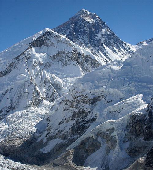 Đỉnh núi cao nhất thế giới
