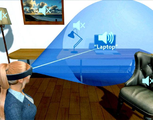 Kính thực tế ảo VR (virtual reality).