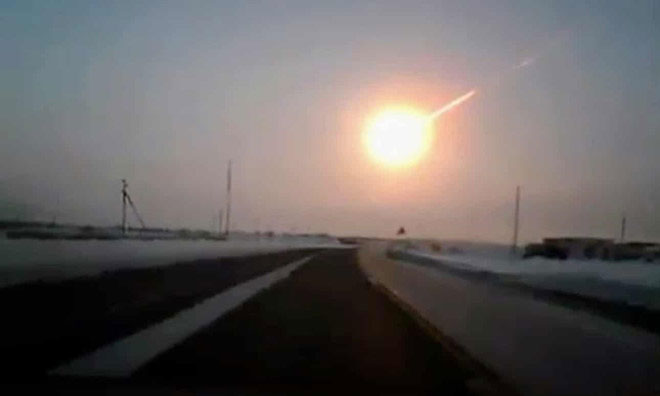 Vụ nổ thiên thạch tại Chelyabinsk năm 2013