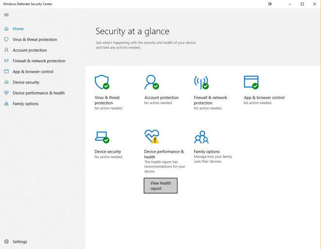 Để bảo đảm an toàn cho người dùng, Microsoft tích hợp Windows Defender khá sâu vào hệ thống Windows 10.