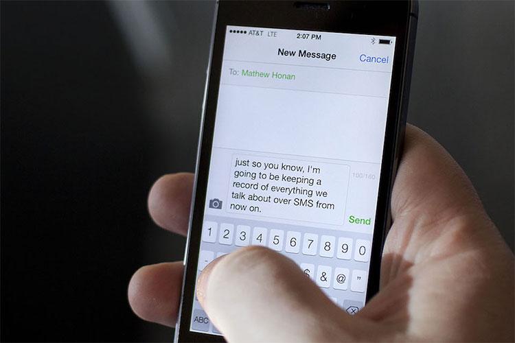 Ngăn việc tin nhắn bị gửi đi nhầm địa chỉ