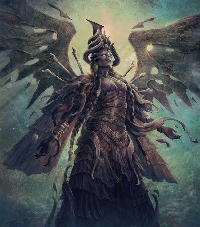 Ereshkigal cai quản những linh hồn tại cõi âm với những luật lệ và quy định riêng.