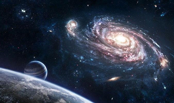 Rất nhiều thứ khác trong không gian cũng tròn vì lực hấp dẫn của chúng.