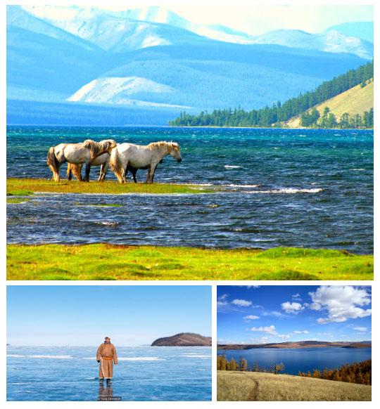 Khövsgöl là hồ nước ngọt sâu nhất ở Mông Cổ.