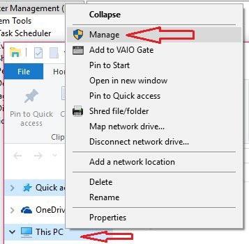 Sử dụng tính năng quản lý ổ đĩa của Windows