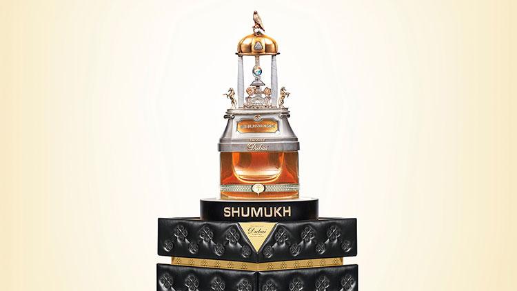 Lọ nước hoa Shamukh có giá khoảng 30 tỷ đồng.