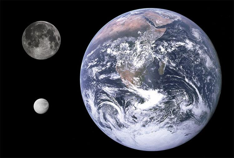Trái Đất có một Mặt Trăng và hai vệ tinh đồng quỹ đạo
