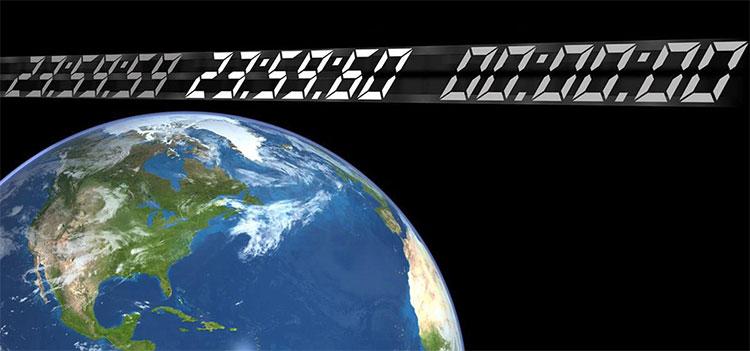 Vòng quay của Trái Đất đang dần chậm lại