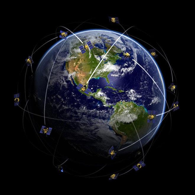 Chỉ cần ba vệ tinh GPS là đủ cho một Trái đất phẳng.