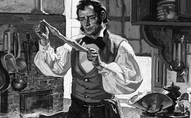 Charles Goodyear, người phát minh ra bao cao su bằng cao su tự nhiên.