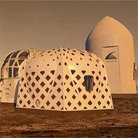 Công bố 3 mẫu nhà trên Mặt trăng và sao Hỏa