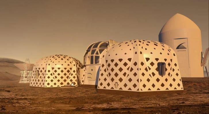 Cuộc thi thiết kế ngôi nhà phù hợp cho cuộc sống trên Mặt Trăng, sao Hỏa và các hành tinh khác được khởi động vào năm 2015. Tuần trước, NASA đã công bố kết quả 3 ngôi nhà được lựa chọn. (Ảnh: Zopherus).