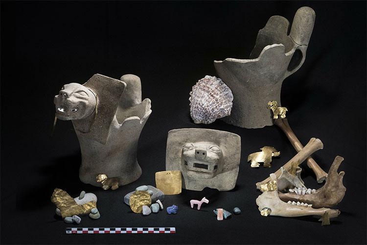 Các hiện vật khảo cổ khác được tìm thấy.