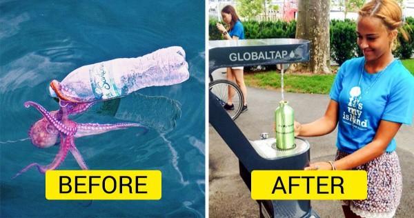 Đạo luật này đưa ra nhằm giải cứu các đại dương khỏi hàng ngàn chai nhựa từ chính thành phố này thải ra mỗi năm