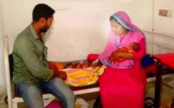 Arifa Sultana, người chồng cùng 3 đứa con mới chào đời