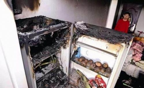 Không để xăng và rượu trong tủ lạnh