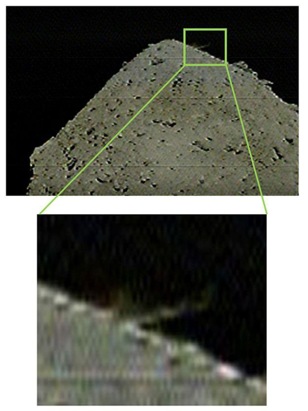 Hayabusa-2 sẽ quay trở lại trong vòng vài tuần để kiểm tra cái hố và thu thập các mẫu vật