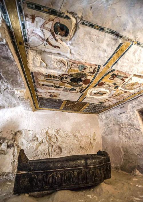 Chiếc quan tài khoảng 4.000 năm tuổi này sẽ được mở nắp và phát sóng trực tiếp trên kênh Discovery vào ngày 7/4