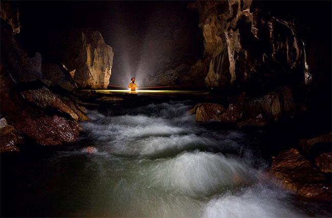Một Sơn Đoòng khác sâu hơn mực nước biển ở Phong Nha - Kẻ Bàng.
