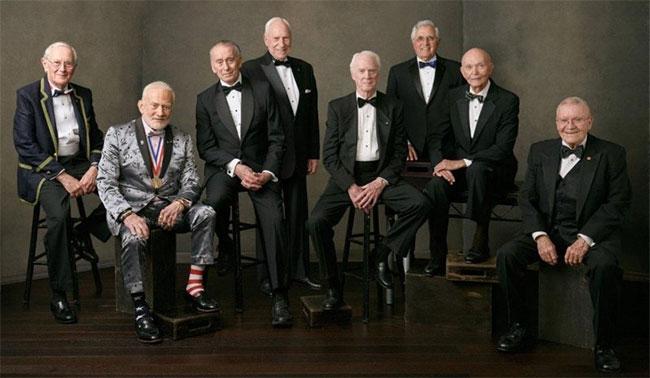 Tám phi hành gia từng đặt chân lên Mặt Trăng theo chương trình Apollo do NASA thực hiện