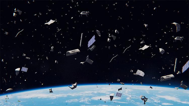 Con người đã tạo ra một bãi rác ngoài vũ trụ sau hàng chục năm bắt đầu tham vọng chinh phục không gian