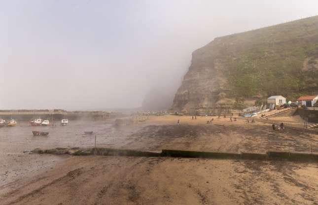 Bãi biển Staithes