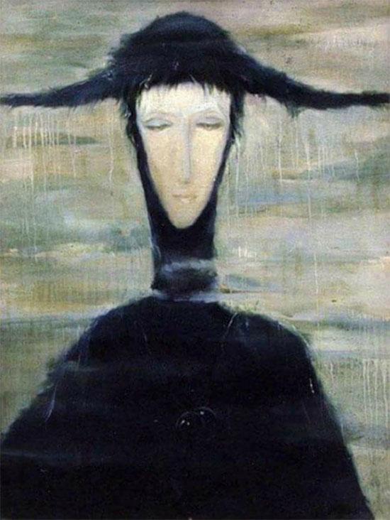 Bức tranh The Rain Woman
