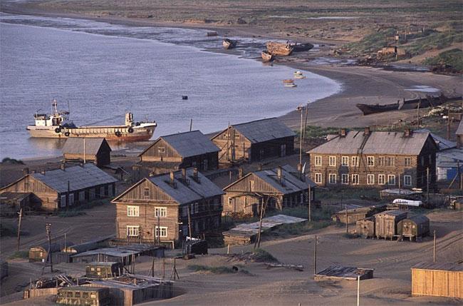 Shoyna từng là một cảng cá phát triển mạnh mẽ.