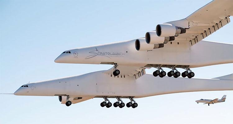 Máy bay này có sải cánh gấp 1,5 lần một chiếc Airbus A380.